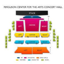Cnu Ferguson Center Seating Chart Ferguson Center For The Arts Concert Hall Concert Tickets