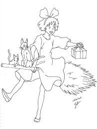 spirited away coloring pages.  Coloring Best Of Spirited Away Coloring Pages Download 2t  Kiki Coloring Google  Search Anime To I