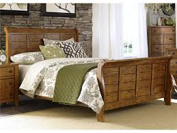 Liberty Furniture Bedroom Queen Sleigh Bed 175 BR QSL Schmitt