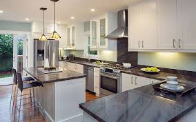granite kitchen surfaces