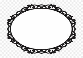 oval victorian frames clipart ciij princess background pink and gold png