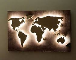 office world map. LED Wood World Map Abstract Art Hanging 3d Wall Decor Office O