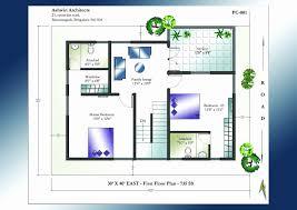 40 x 60 house plans east facing inspirational house plan 40 x 60 plot beautiful south