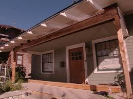 diy patio roof repair. sad \u0026 sagging front porch roof source · how to repair a support beam tos diy diy patio c