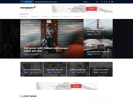 Wordpress Template Newspaper Newspaper X Wordpress Theme Wordpress Org English