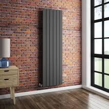 Urban Vertical Radiator - Anthracite - Single Panel (1600mm High) Feature  Large Image