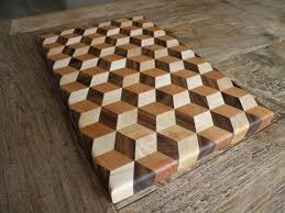 3d end grain cutting board plans. woodworking - making a 3d tumbling cutting board end grain plans