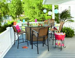 Essential garden fulton 5 piece patio bar set limited availability