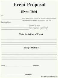 Sample Letter For Event Proposal 7 Best Event Proposal Template Images Event Proposal Template