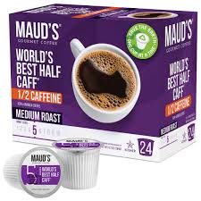 Pods help make the perfect cup by eliminating the need to measure. Maud S World S Best Half Caff Medium Roast Coffee Pods
