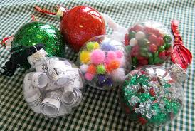 A HOLIDAY BALL: Five ideas for making Christmas ornaments from clear glass  balls | PHOTOS