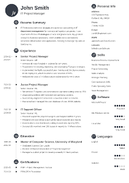 40 Resume Templates [Download] Create Your Resume In 40 Minutes Impressive Resume Templatee