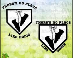 there 39 s no place like home softball. softball baseball design there\u0027s no place like home cleats clipart cut file instant download full color there 39 s a