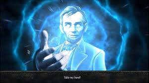 abraham lincoln ghost caught on tape. the ghost of abraham lincoln caught on tape