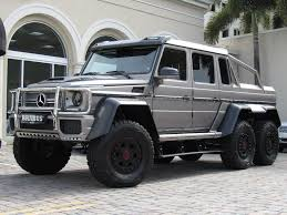 2014 Mercedes-Benz G-Class G63 6X6 SUV for Sale in Miami, FL on ...
