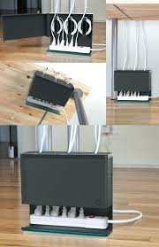 Office cord management Diy Desk Cord Management Better Homes And Gardens Desk Cord Management Image Result For How To Confine Desk Cords
