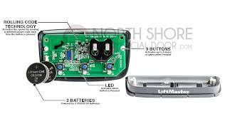how to program a liftmaster garage door opener remote liftmaster 373pc premium remote control garage door