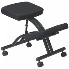 kneeling office chair. Office Star - Ergonomic Kneeling Chair With Dual Knee Pads And Memory Foam T