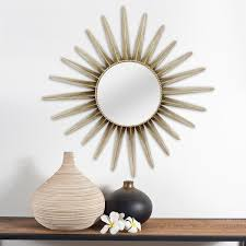 stratton home decor charlotte wall mirror free shipping today