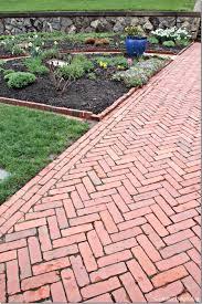 brick paver patio herringbone. Plain Patio Backyard Garden With Herringbone Brick Paver  Beautiful Timeless  Outdoor Paving  Wearefound Home Design Patio E