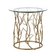 gold side table vine circular contemporary tables french style australia