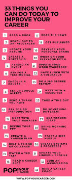 best ideas about career planning career advice 33 things you can do today to improve your career