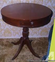 round side table with drawer antique round side table w small drawer brass claw round side round side table with drawer