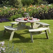 picture of rowlinson round picnic table ptround
