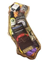 california bounty gift basket featuring gourmet food from california