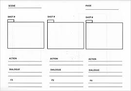 Free Storyboard Templates Interesting 48 Audio Video StoryBoard Templates Free Premium Templates