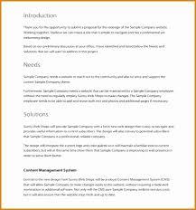 7 Web Design Proposal Example - Besttemplates - Besttemplates