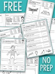 Fun Science Worksheets for First Grade | Homeshealth.info
