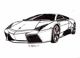 Lamborghini Drawing Pic: Free coloring pages of lamborgini ...
