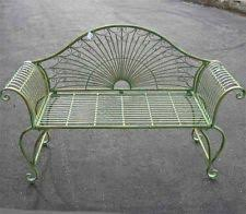 wrought iron garden furniture antique. gardenbench 37 wrought iron garden furniture antique w