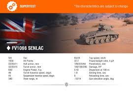 Top 10 Light Tanks Supertest News Fv1066 Senlac Supertest News World Of