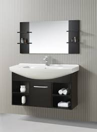 floating bathroom vanities. Inch Single Sink Floating Vanity With Mirror Pertaining To 48 Bathroom Idea 4 Vanities