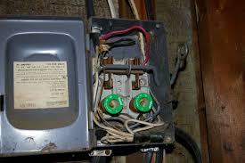 garage rewiring wislander com but the main reason that i decided i needed to rewire the garage was the inside of the fuse box whoever did the wiring work screwed it up from day one