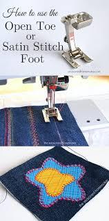 Sewing Machine Satin Stitch