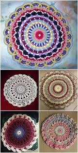Free Crochet Mandala Pattern Fascinating 48 Free Crochet Mandala Patterns DIY Crafts