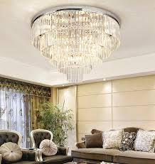 modern fashion living room bedroom crystal ceiling lamp k9 crystal chandelier 9888