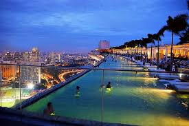 Modest Infinity Pool Singapore Night nzbmatrixinfo