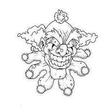 Pennywise Cane Coloring Pages Printable Drawing Pictures The Clown
