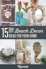 Check out 15 DIY Beach Decor Ideas at https://diyprojects.com/