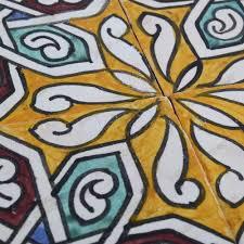 Mattonelle di andaluso 145 cm molti disegni artigianali