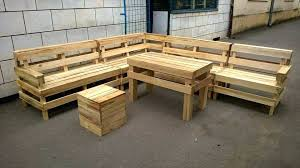 furniture made from wooden pallets. Garden Furniture Made From Wooden Pallets Recycled Pallet Outdoor L Shape Sofa Wood