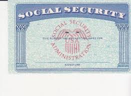 Social Security Color Card Ssc Blank