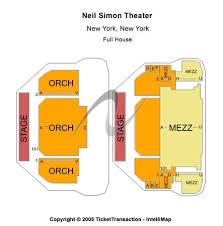 Neil Simon Theatre Tickets In New York Neil Simon Theatre