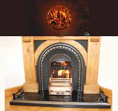 install eco grate in the fireplace for an improved heat emission