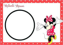 Minnie Mouse Blank Invitation Template Minnie Mouse Frame Mouse Photo Booth Frame Minnie Mouse Frame