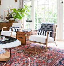 Needle haystack furniture Zen Emily Henderson Living Room Chairs Interior Design Your Guide To Buying Furniture Online Real Simple